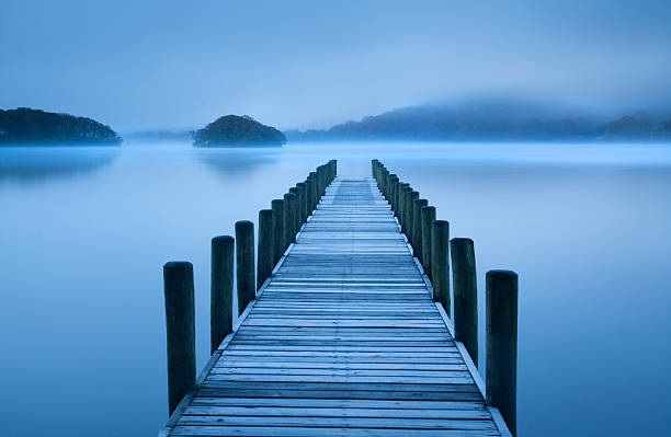 Landing Jetty on Conniston Water, Lake District