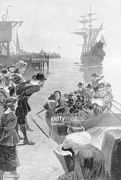 Landing a cargo of Negro slaves in the American colonies Slavery was introduced into the English Colonies in 1619 when a Dutch ship sold the colony...