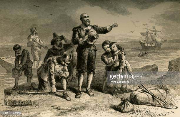 Landing of the Pilgrims' In 1620 a group of Puritans left Plymouth in England on 'The Mayflower' and arrived on the east coast of what is now the...