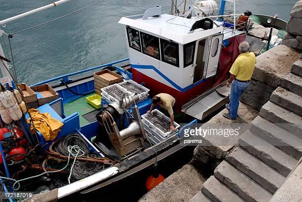 landing el pesca - merluza fotografías e imágenes de stock