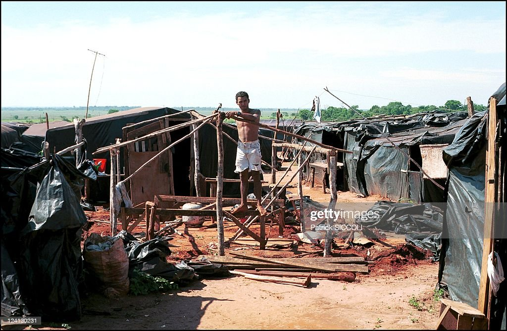 Landless Workers Movement In Brazil On November 28, 2000. : News Photo