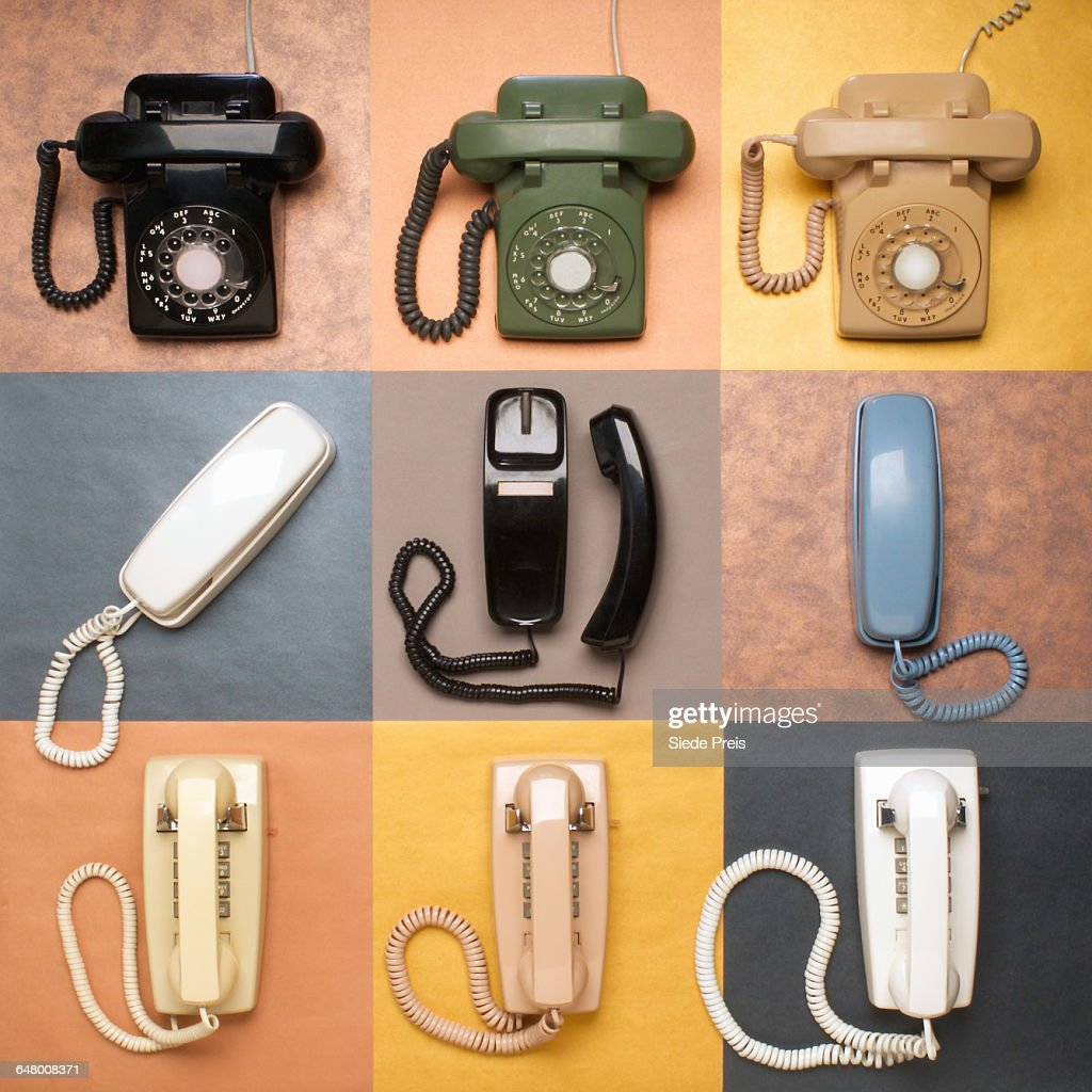 Landline Telephones : Stock Photo