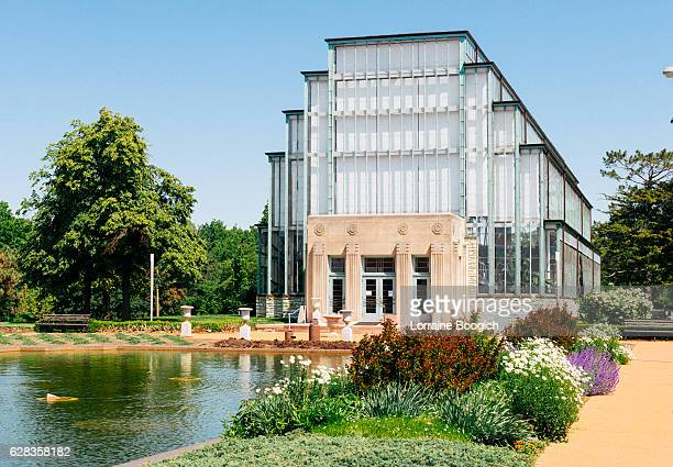 Landmark Jewel Box Greenhouse Architecture Forest Park St. Louis Missouri