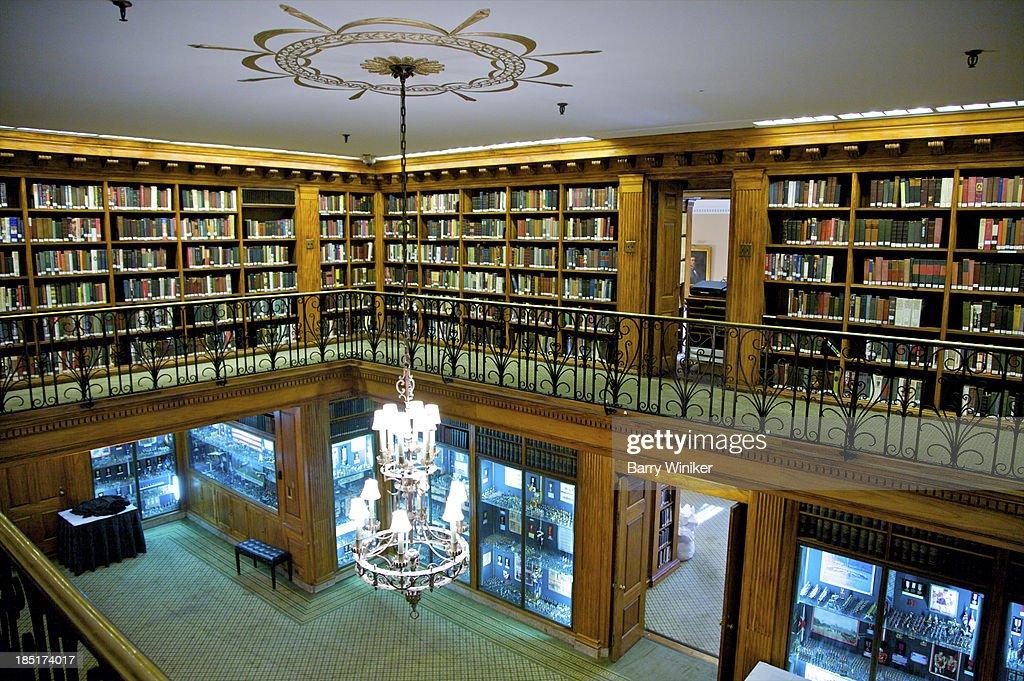 Landmark library balcony : Stock Photo