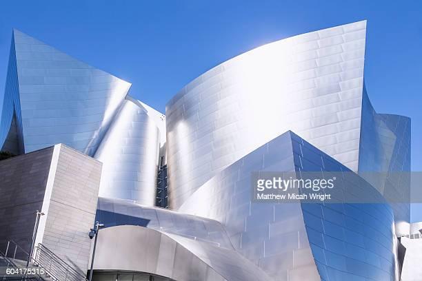 A LA landmark, The Walt Disney Concert Hall