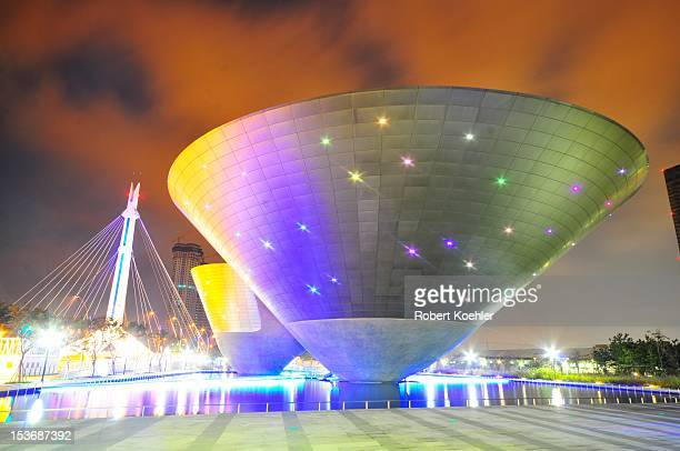 Landmark Tri-Bowl, designed by architect Yoo Kerl. Used as a multi-use cultural space.