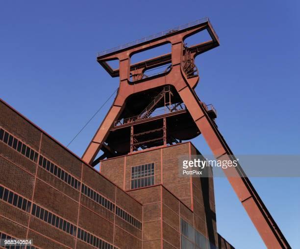 """landmark """"zeche zollverein - エッセン ストックフォトと画像"""