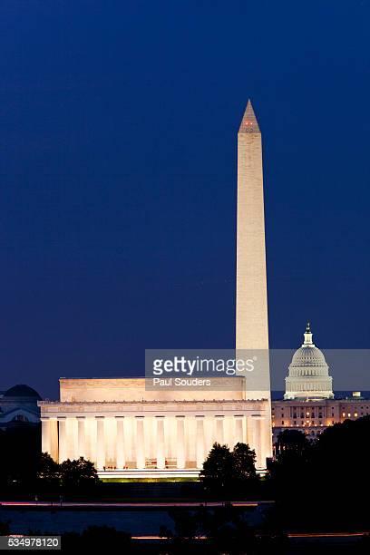 landmarks in washington, dc - united states capitol rotunda stock pictures, royalty-free photos & images