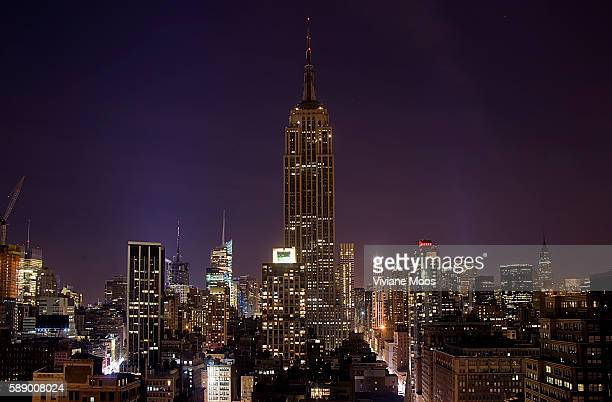 Landmarks like the Empire State Building and the Chrysler Building in New York City turned dark their lights turned off during Earth Hour For the...