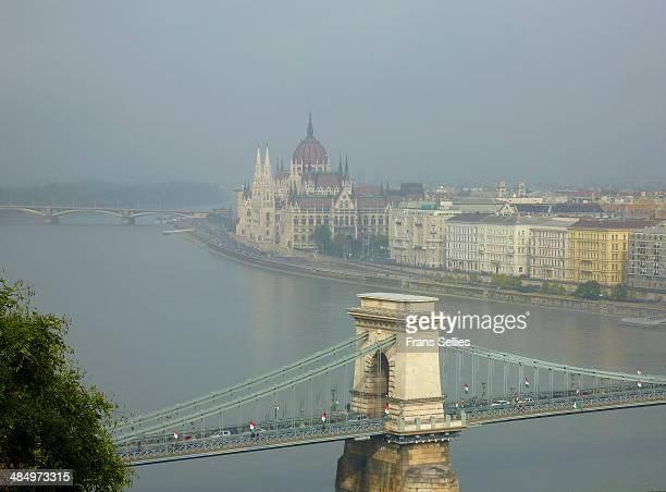 landmarks of budapest - frans sellies stockfoto's en -beelden