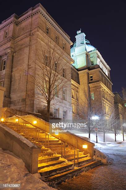 Landmarks of the old Montreal