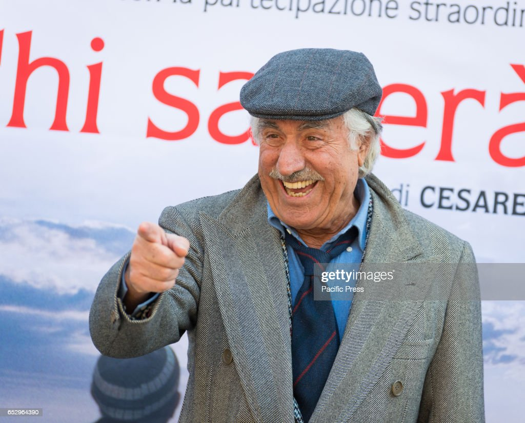 Lando Buzzanca attends the photocall of 'Chi Salverà le...