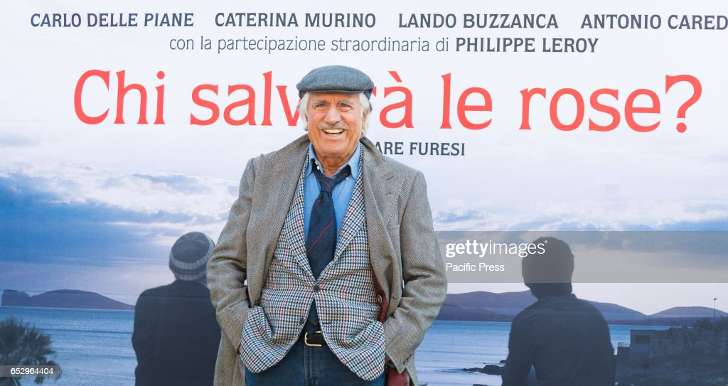 Lando Buzzanca attends the photocall of 'Chi Salverà le Rose ?'.