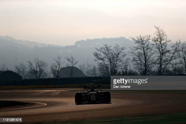 Lando Norris of Great Britain driving the McLaren F1 Team MCL34 Renault on track during day four of F1 Winter Testing at Circuit de Catalunya on...