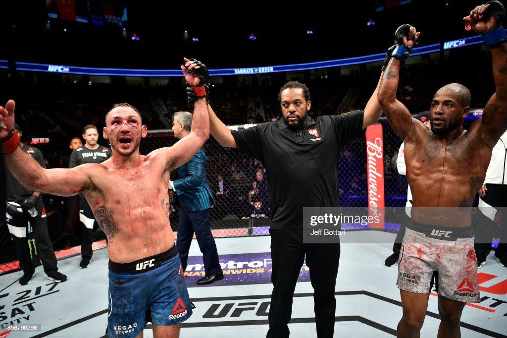 UFC 216: Vannata v Green : News Photo