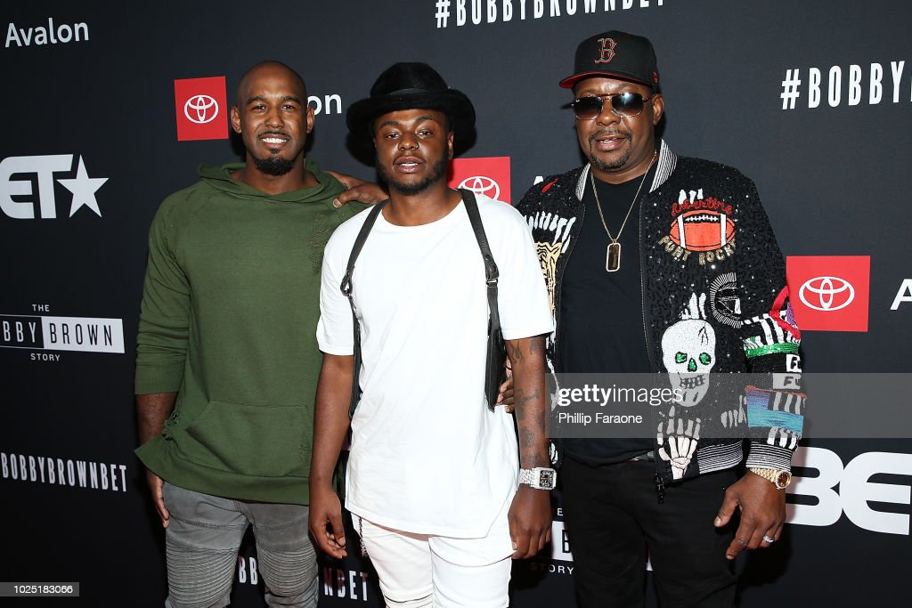"BET And Toyota Present The Premiere Screening Of ""The Bobby Brown Story"" - Arrivals : News Photo"