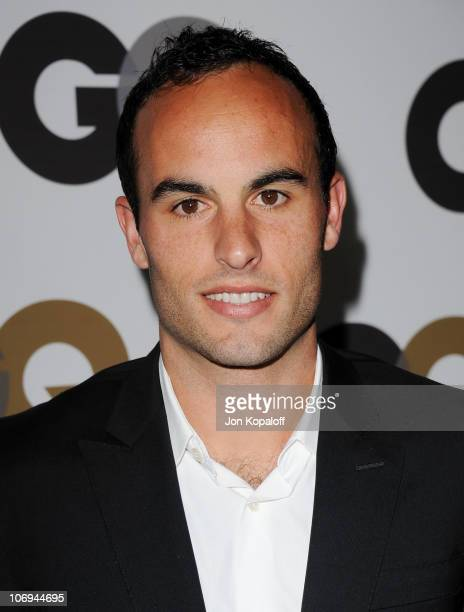 Landon Donovan arrives at the GQ Men Of The Year Party at Chateau Marmont on November 17 2010 in Los Angeles California