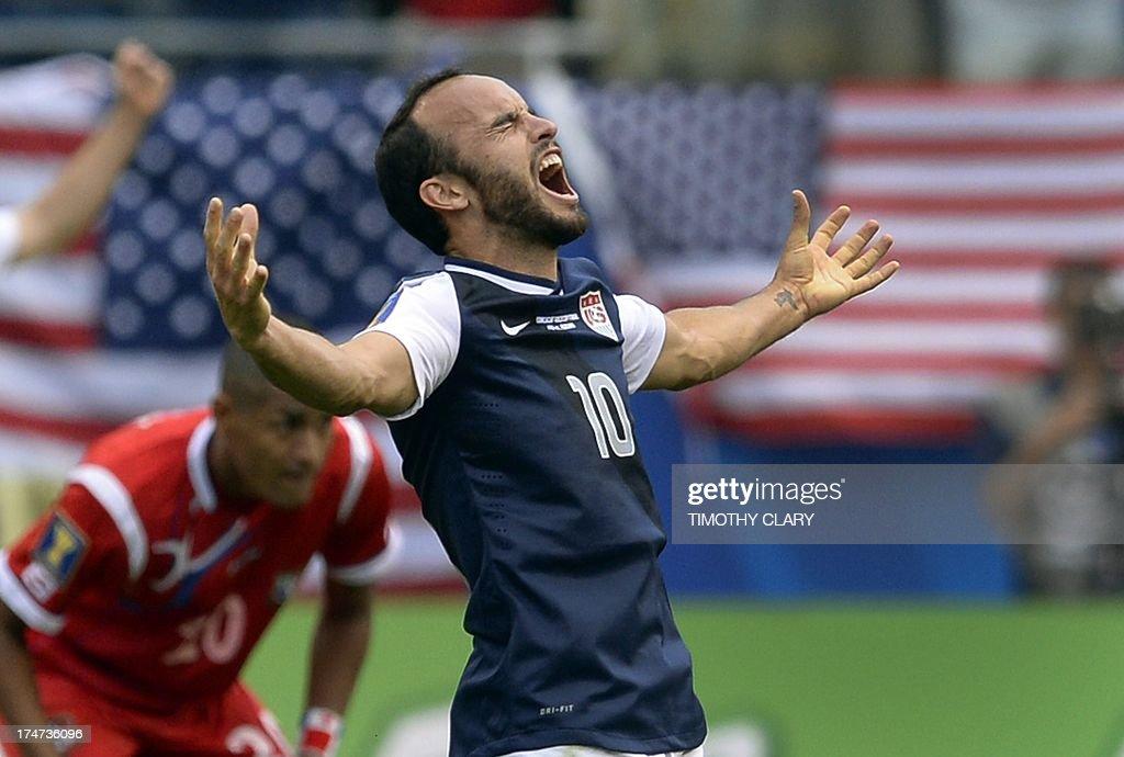 FBL-CONCACAF GOLD CUP-USA-PAN : News Photo