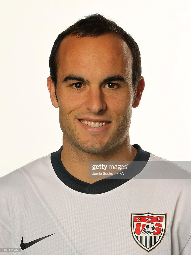 Landon Donovan of USA poses during the official FIFA World Cup 2010 portrait session on June 3, 2010 in Centurion, South Africa.