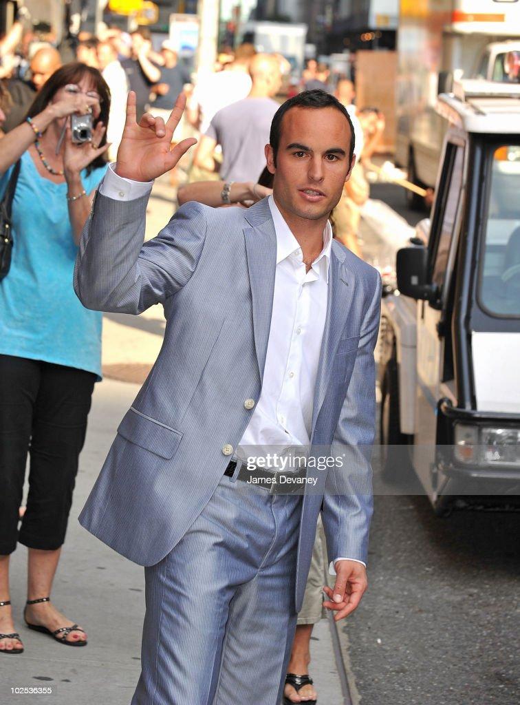 Celebrity Sightings In New York City - June 29, 2010
