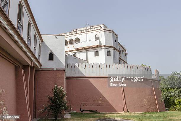 Landowner Kunwar Vikram Jeet Singh's mansion stands in Kuchesar Uttar Pradesh India on Tuesday May 24 2016 Singh is one of thousands of rich...