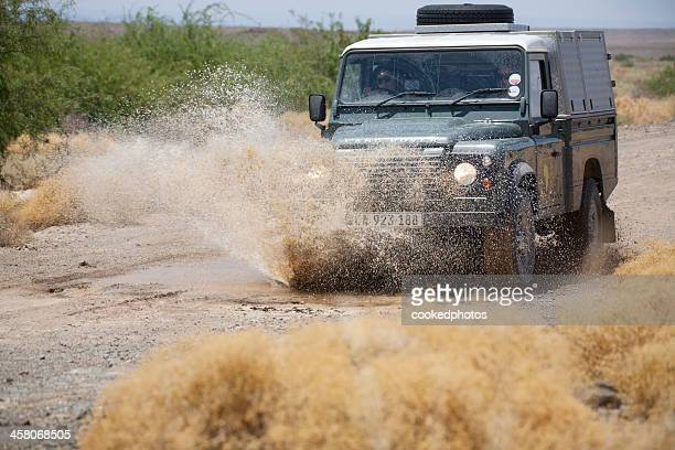 landrover defender - land rover stock pictures, royalty-free photos & images