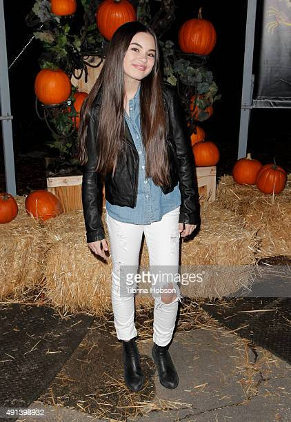 Landry Bender attends the Rise of the Jack O' Lanterns 2nd annual VIP event at Descanso Gardens on October 4 2015 in La CanadaFlintridge California