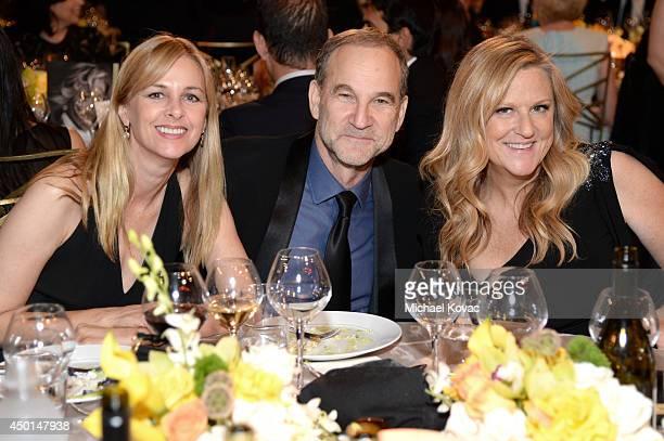 Landry Major AFI Director Marshall Herskovitz and AFI Trustee Lori McCreary attend the 2014 AFI Life Achievement Award A Tribute to Jane Fonda at the...