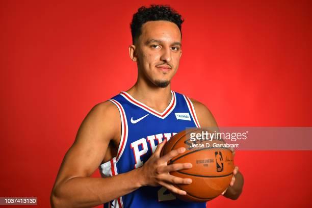Landry Shamet of the Philadelphia 76ers poses for a portrait at the Wells Fargo Center in Philadelphia Pennsylvania on September 21 2018 NOTE TO USER...