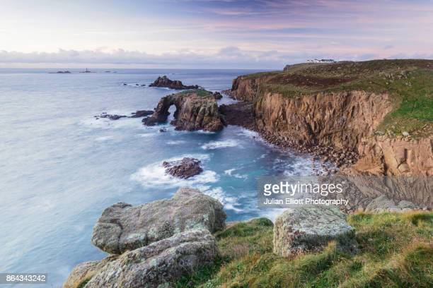 Land's End in the south-west of England, UK.