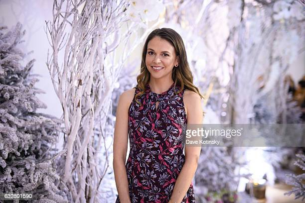 Land's Younger Star Sutton Foster attends the Bronwen Smith of B Floral Hosts a Private Winter Wonderland Event at Studio Arte in NYC at Studio Arte...