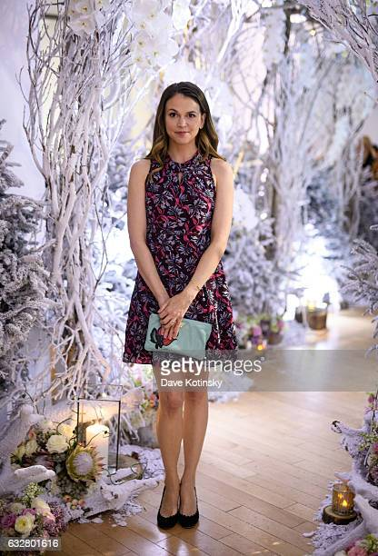 Land's 'Younger' Star Sutton Foster attends the Bronwen Smith of B Floral Hosts a Private Winter Wonderland Event at Studio Arte in NYC at Studio...