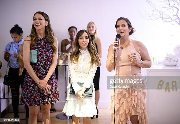 """Land's """"Younger"""" Star Sutton Foster, """"Today"""" Show Host Lilliana Vazquez, and Owner and Lead Designer Bronwen Smith attend the Bronwen Smith of B..."""