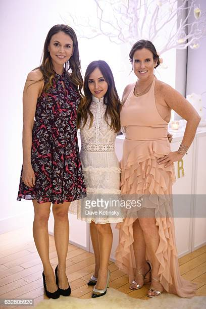 TV Land's 'Younger' Star Sutton Foster 'Today' Show Host Lilliana Vazquez and Owner and Lead Designer Bronwen Smith attend the Bronwen Smith of B...
