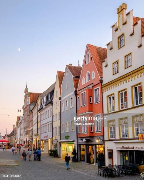Landsberg am Lech Old Town (Bavaria, Germany)