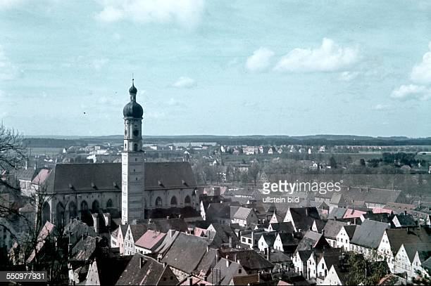 Landsberg am Lech parish church 1940