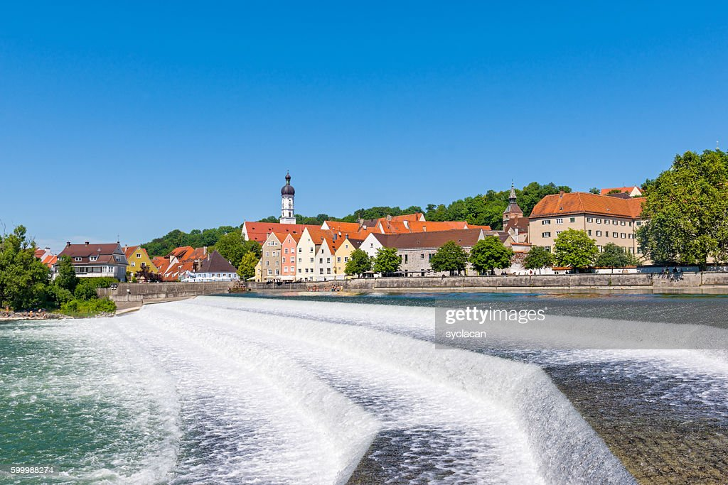 Landsberg am lech : Stock Photo