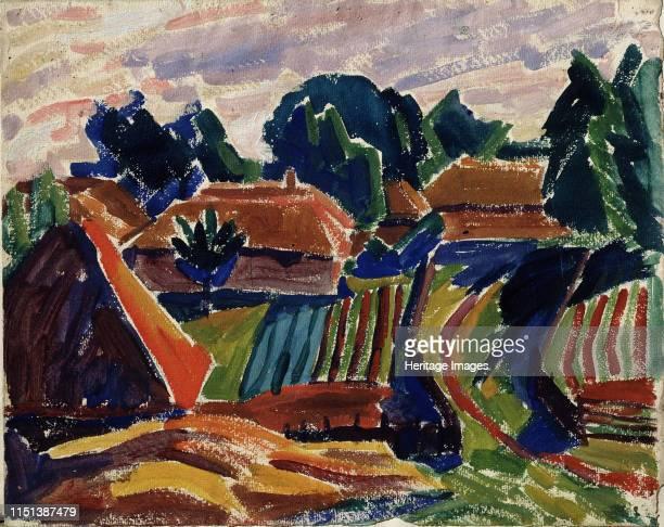 Landscape 19081912 From a private collection Artist Javlensky Alexei von