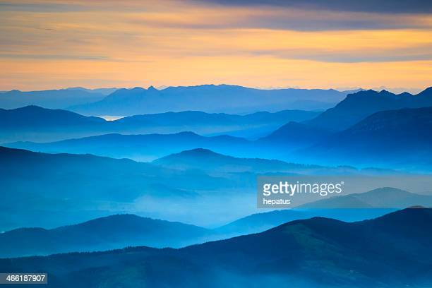landscape aerial view - horizon stock pictures, royalty-free photos & images