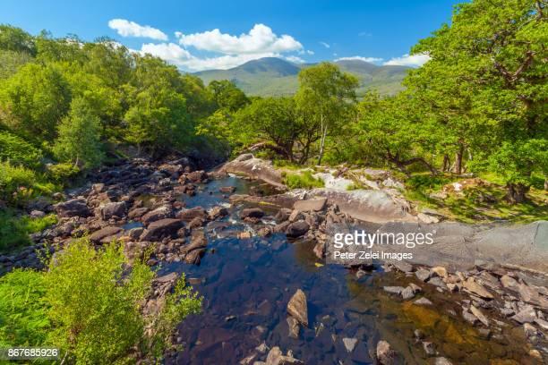 Landscape along the Ring of Kerry, Killarney National Park, County Kerry, Ireland