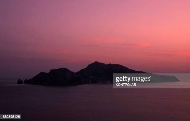 Landscape and view Capri island