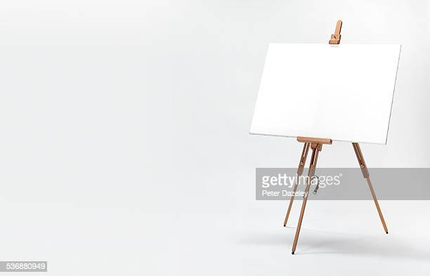 landscape artist easel - easel stock pictures, royalty-free photos & images