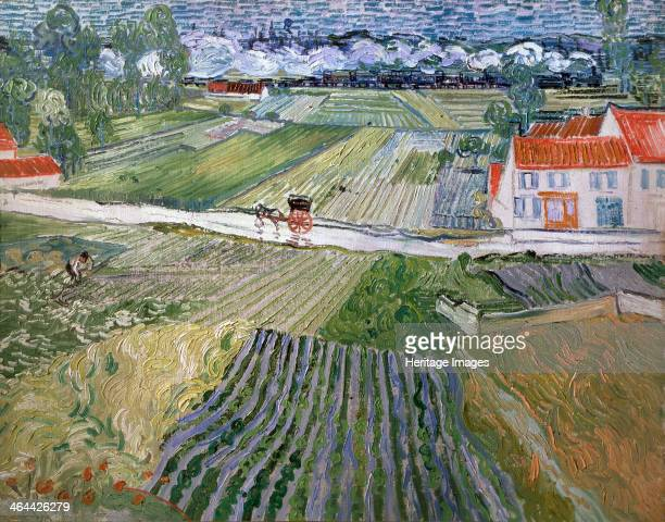 'Landscape at Auvers after Rain' 1890 Found in the collection of the State A Pushkin Museum of Fine Arts Moscow