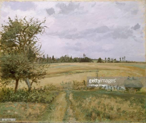 Landscape at Pontoise 1872 Artist Camille Pissarro