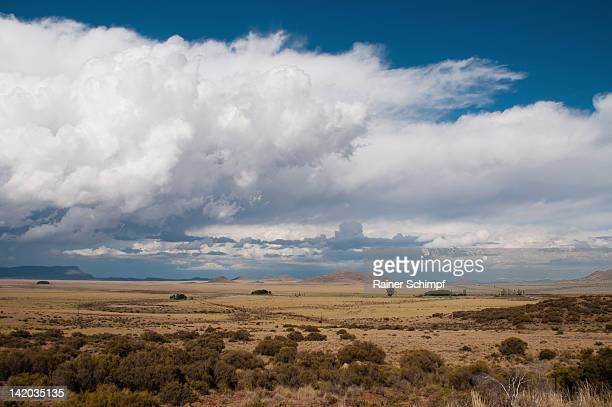 Landscape Clouds near Bloemfontein, Free state, South Africa