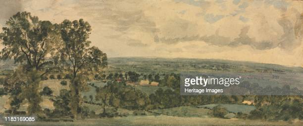 Landscape. Creator Alphonse Legros .
