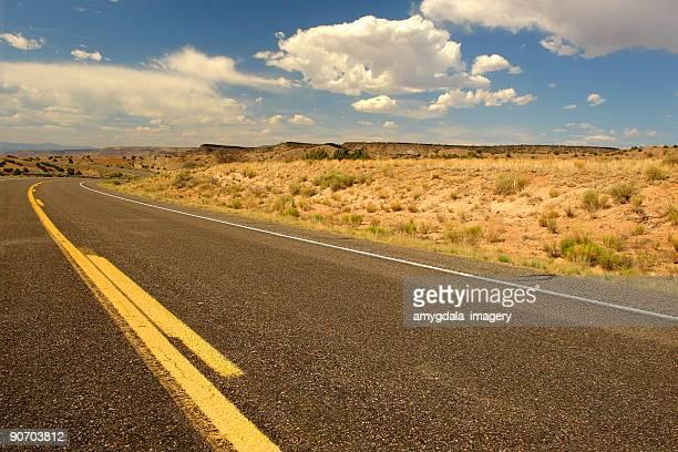 Landschaft desert highway
