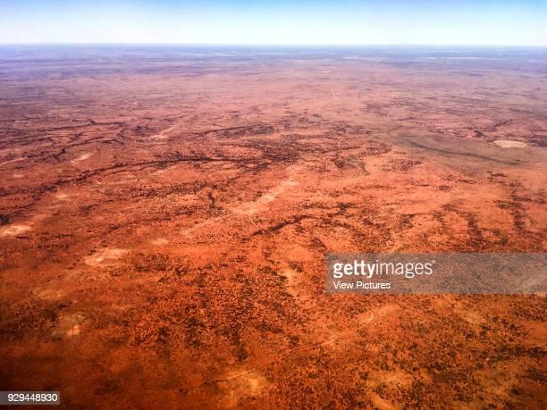 Landscape. Desert House, Alice Springs, Australia. Architect: Dunn Hillam Architects, 2014.