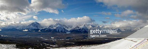 Landscape during the Audi FIS Alpine Ski World Cup Women's Downhill on December 05 2015 in Lake Louise Canada