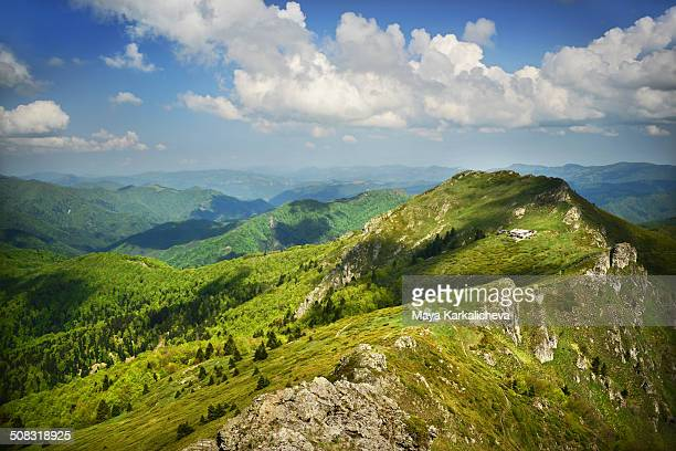 Landscape from Balkan mountains